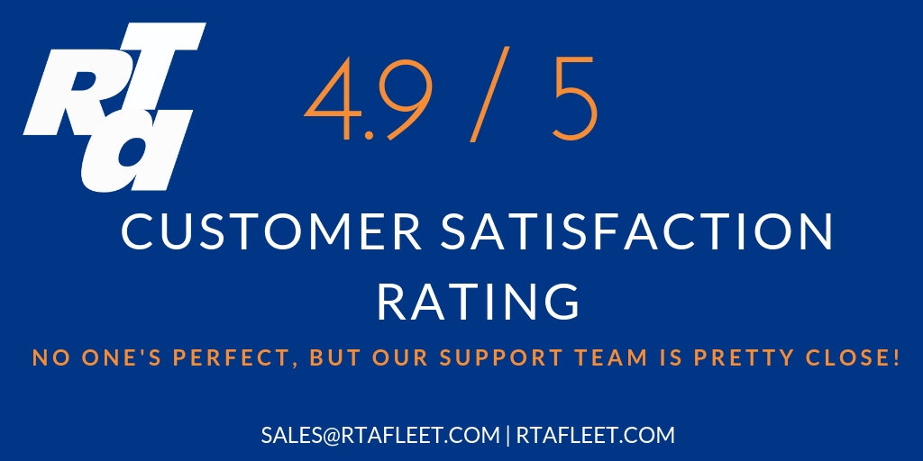 RTA Customer Satisfaction Rating